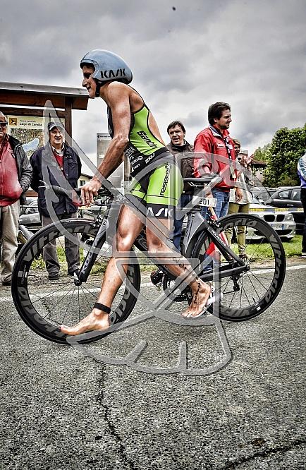 Triathlon olimpico e medio di Candia 2015